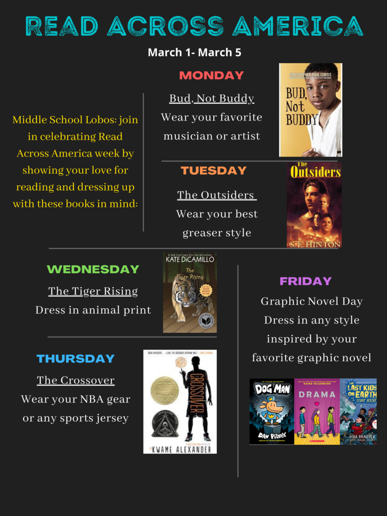 5th-8th  Grade Spirit Week